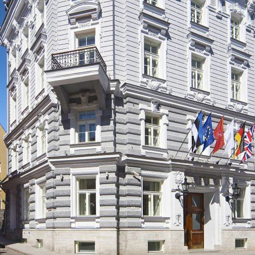 Luksuslik Telegraaf Hotell Tallinna kesklinnas