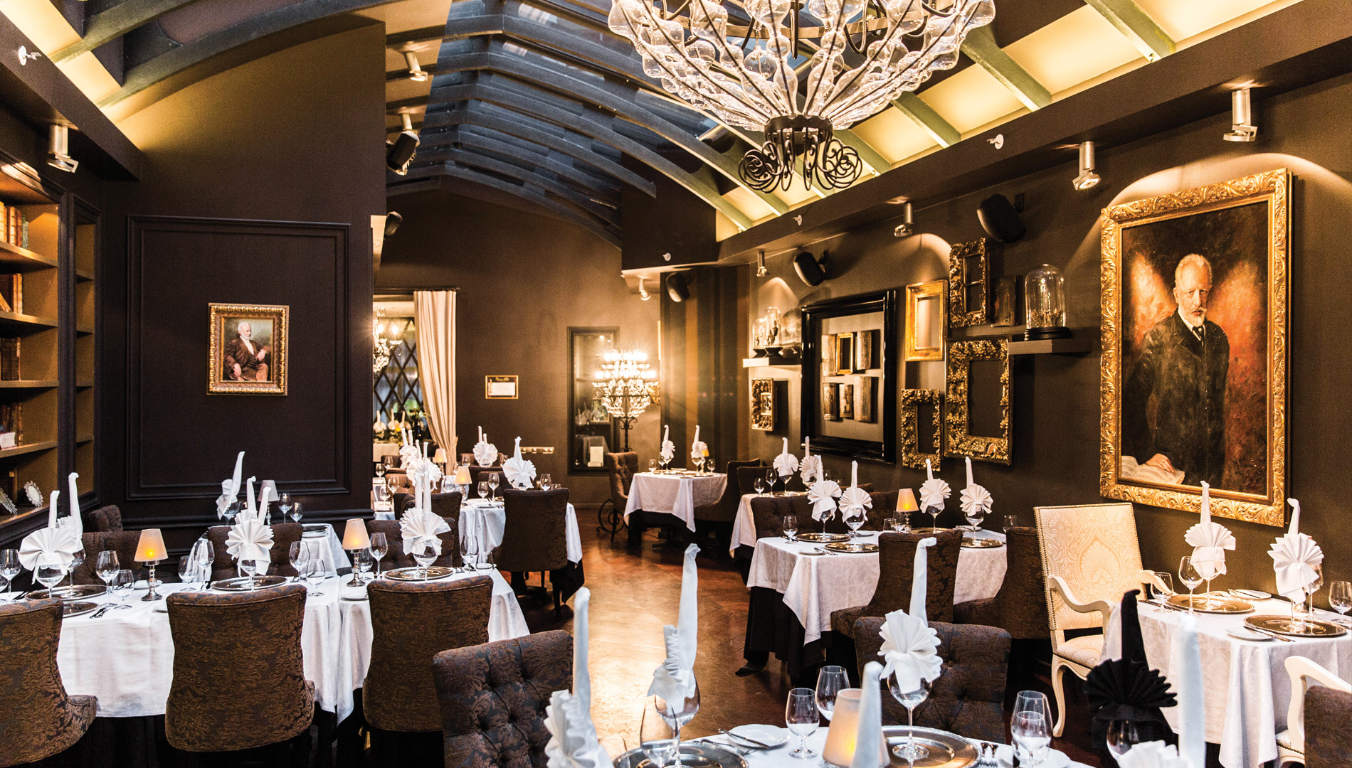 Tchaikovsky Restaurant Tallinn I Russian cuisine I Old Town